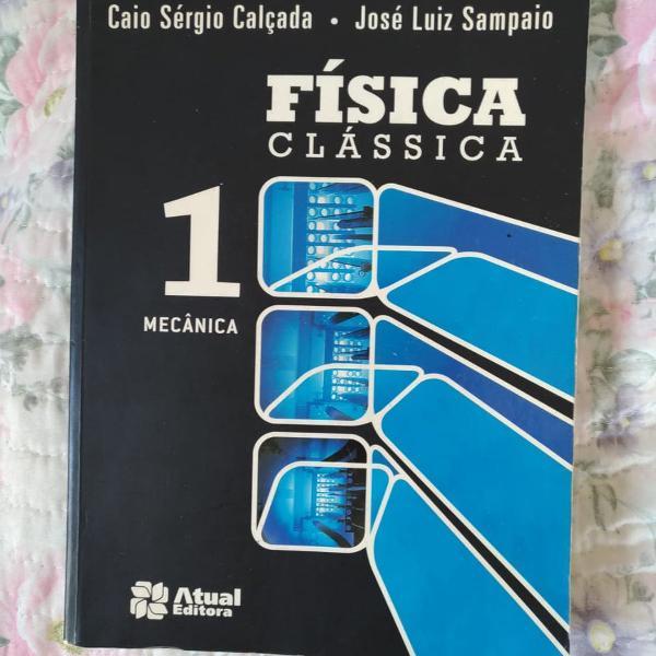 """Livro """"física clássica"""""""