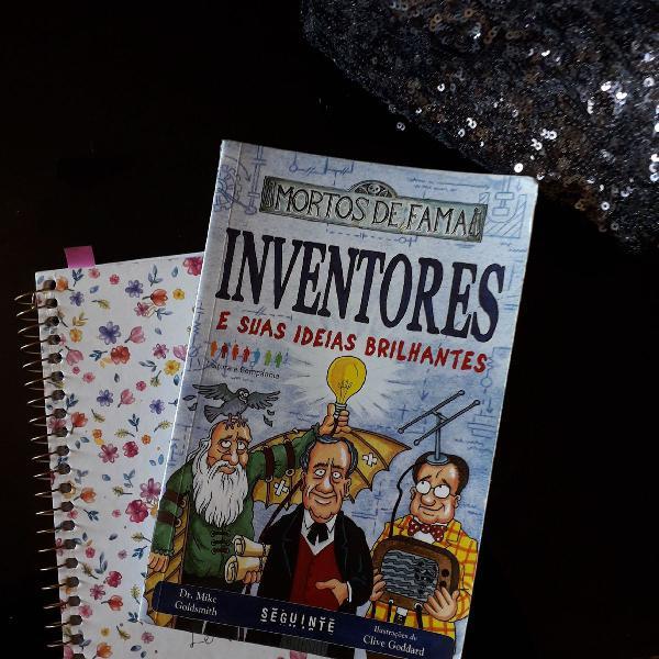Livro: inventores - e suas ideias brilhantes