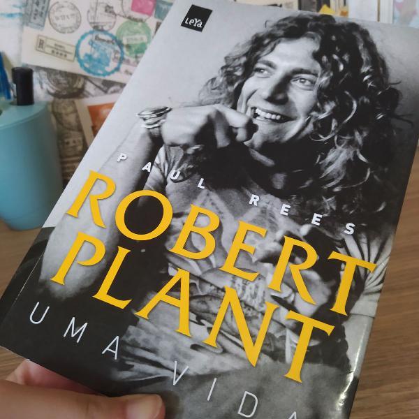 Livro: robert plant - uma vida