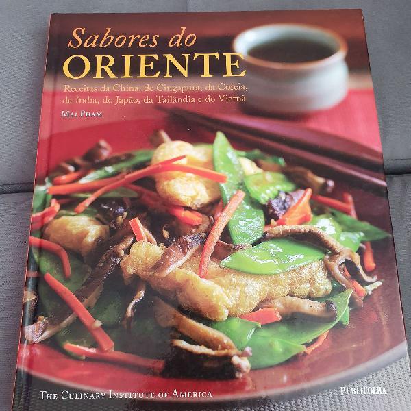 """Livro de receitas """"sabores do oriente"""""""