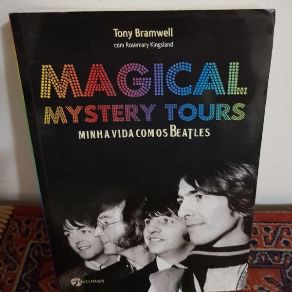 Livros beatles magical mistery tours minha vida com os