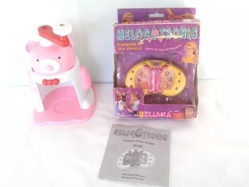 Lote Brinquedos Antigo Eliana Melocoton E Raspadinha (leia)