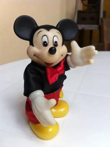 Mini boneco turma mickey brinquedo antigo disney