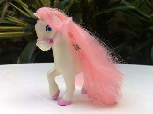 Mini cavalo pônei coleção barbie brinquedo antigo mattel
