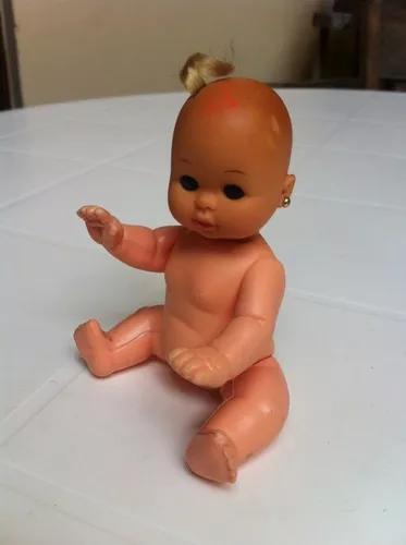 Mini doll boneca bebê brinquedo antigo coleção estrela
