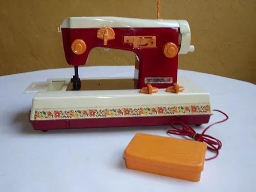 Mini máquina costura boneca susi brinquedo antigo estrela