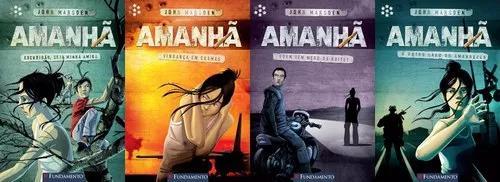 Série amanhã livros do volume 4 ao 7