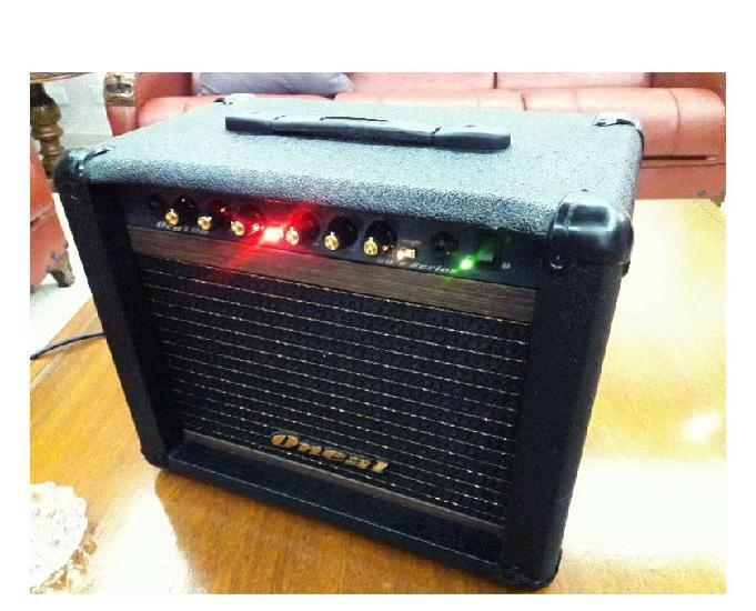 Super Amplificador Oneal OCG 60 Series 30 Watts RMS Novo