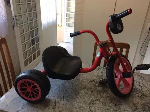 Triciclo Bandeirantes Pedal Car Brinquedo Velocípede Antigo