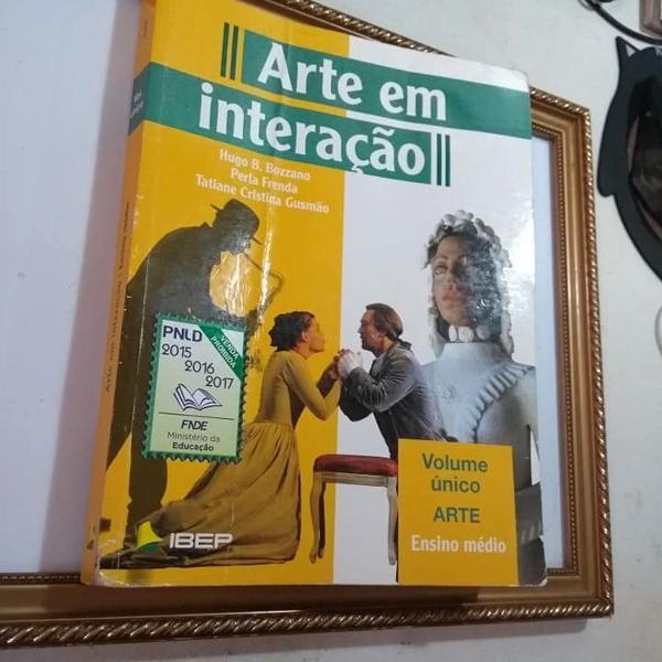 Arte em interação volume único