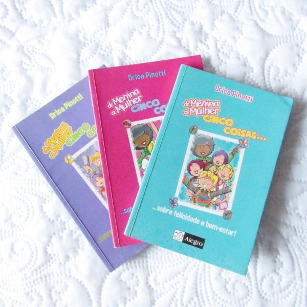 De menina a mulher cinco coisas combo de livros juvenil auto