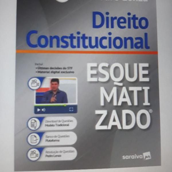 Direito constitucional esquematizado edicao 23 - 2019