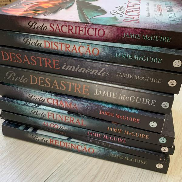 Kit com todos os livros da serie belo desastre