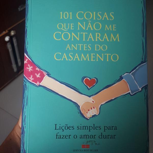 Livro 101 coisas que não me contaram antes do casamento
