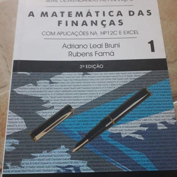 """Livro """"a matemática das finanças"""""""