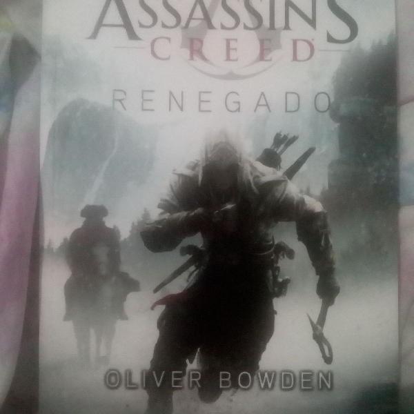 Livro assassin's creed renegado