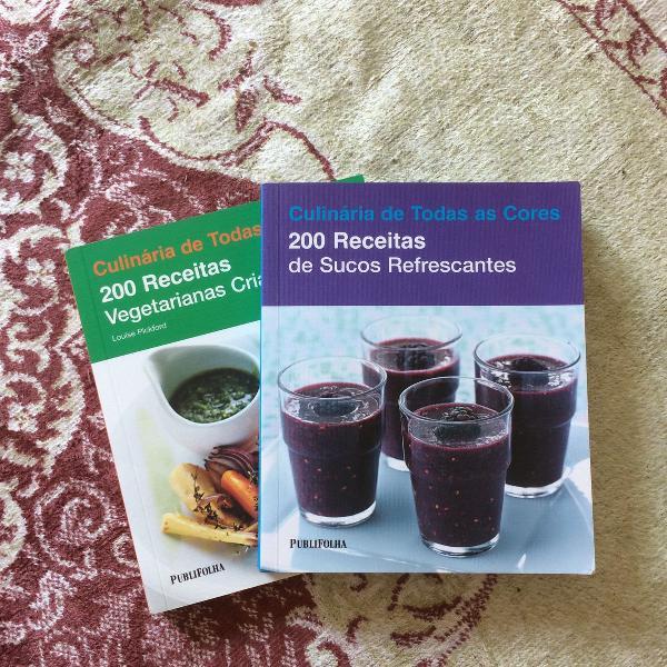 Livro culinária de todas as cores
