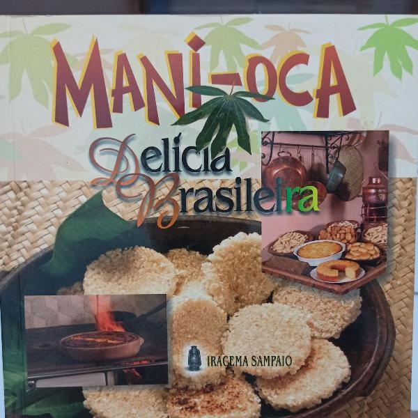 Livro de culinária, receitas com mandioca