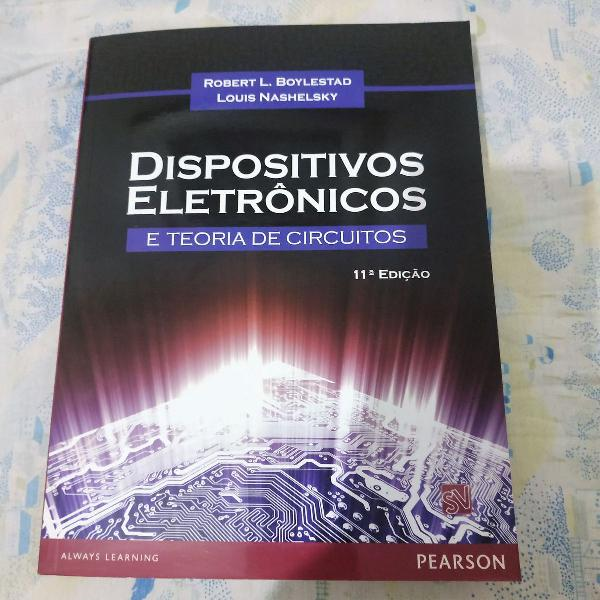 Livro dispositivos eletrônicos e teoria dos circuitos