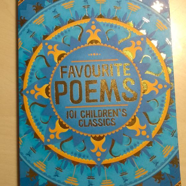 Livro em inglês favourite poems
