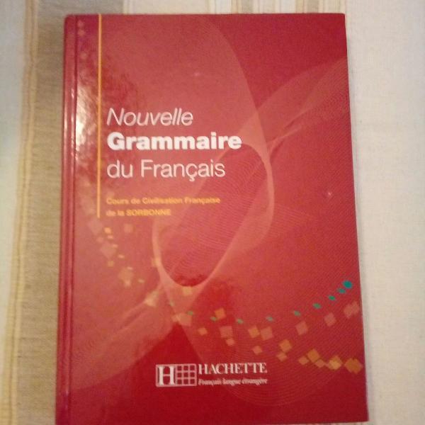 Livro gramática francesa . grammaire du français
