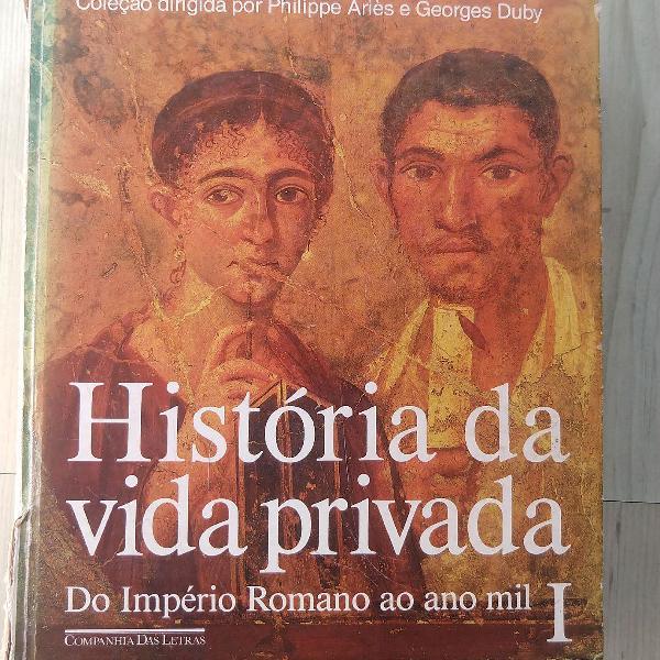 Livro história da vida privada