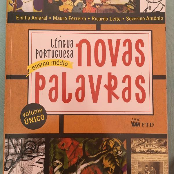 Livro novas palavras-língua portuguesa