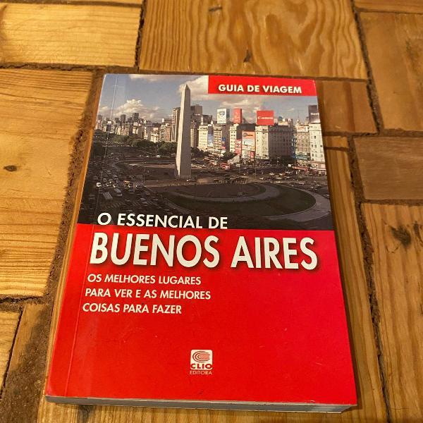 Livro o essencial de buenos aires