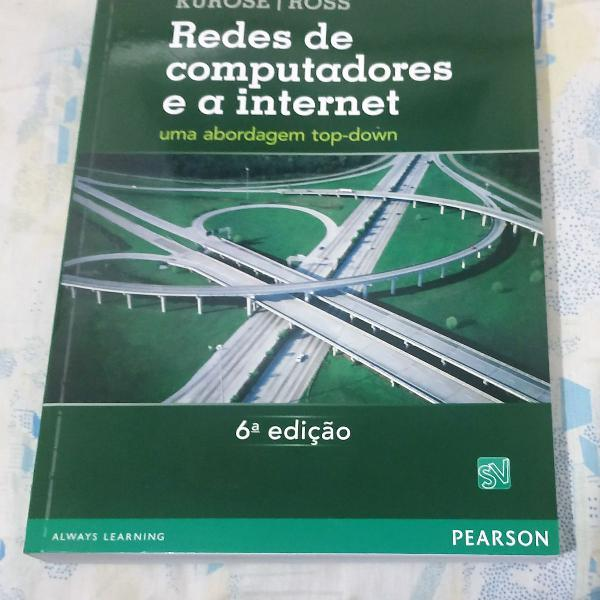 Livro redes de computadores e a internet: uma abordagem