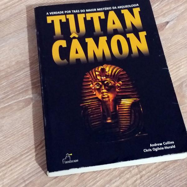 Livro sobre egito antigo tutancamon