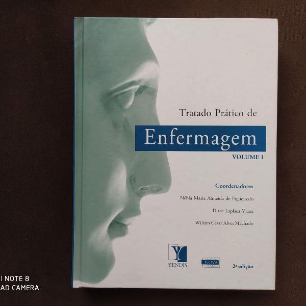 Livro tratado prático de enfermagem - volume 1
