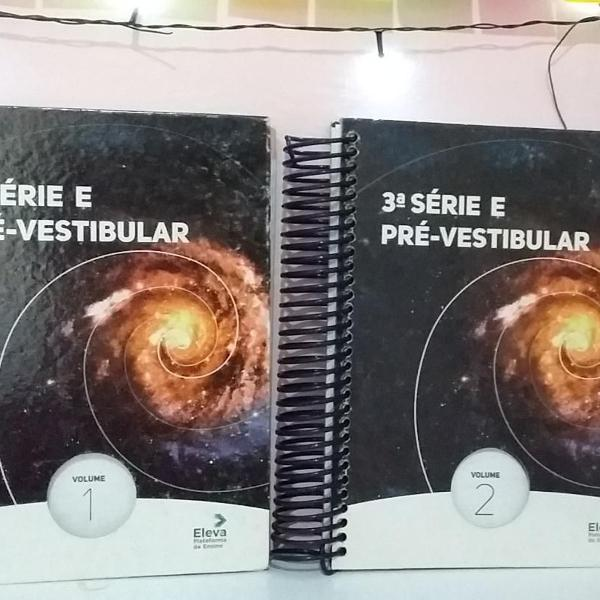 Volume 1 e 2 - 3ª série e pré vestibular eleva