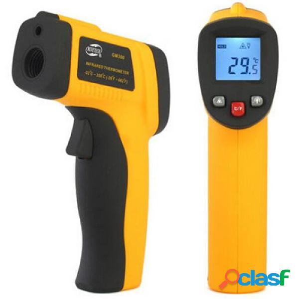Termômetro digital infravermelho com mira laser (-50º a 420º c)