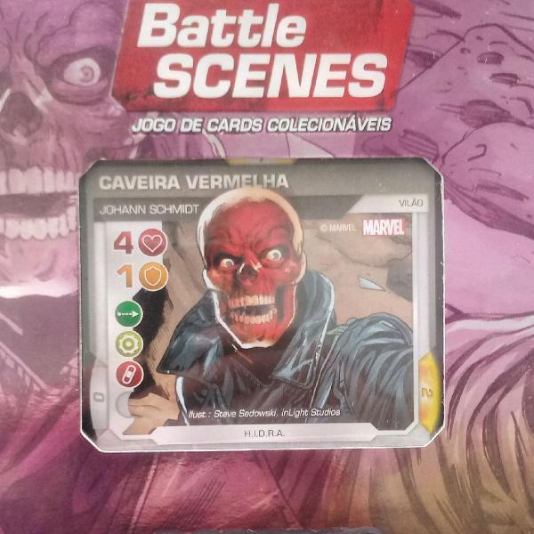 2 kits card game battle scenes marvel