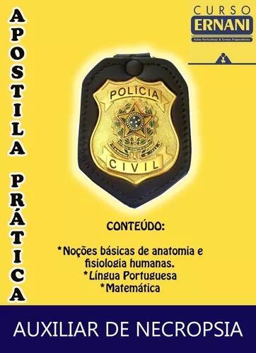 Apostila prática - concurso de auxiliar da polícia civil