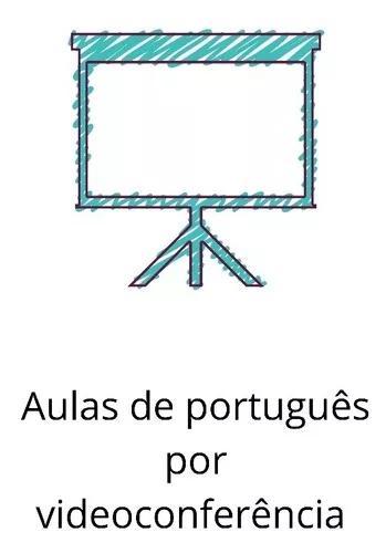 Aulas reforço português - videoconferência