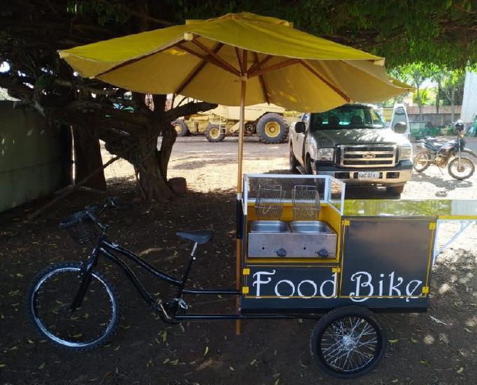 Bicicleta food bike comida na bicicleta ano 2018