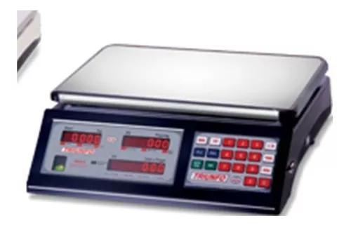 Balança computadora dupla escala com bateria 15kg triunfo