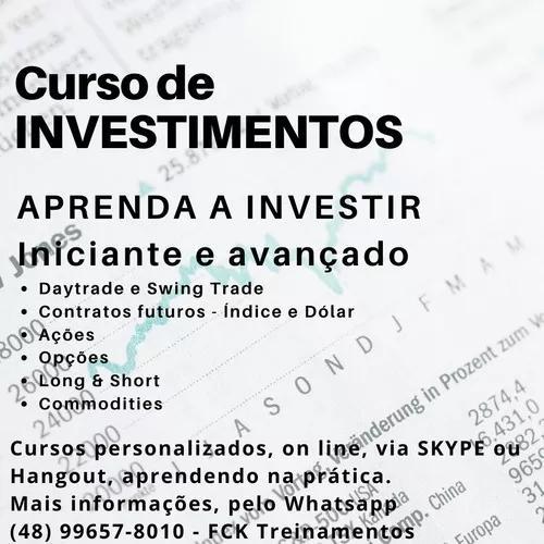 Curso de investiimentos