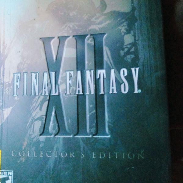 Final fantasy xii edição de colecionador para ps2 original