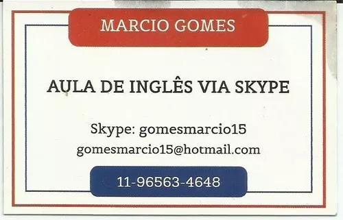 Inglês via skype
