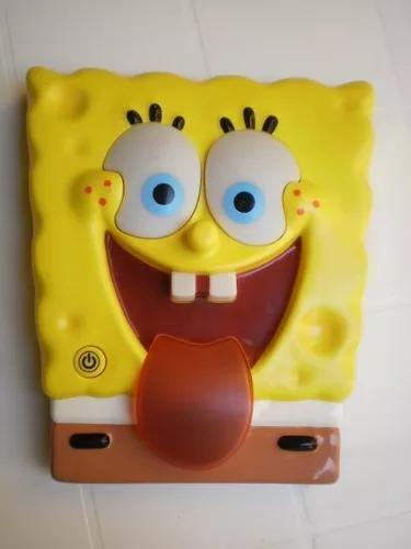 Jogo genius simon bob esponja brinquedo antigo nicklodeon