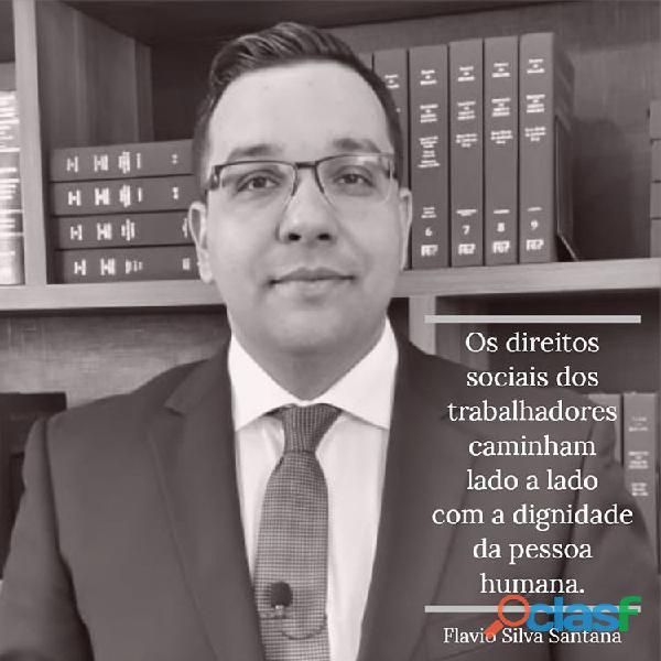 Advogado trabalhista   dr flávio silva santana