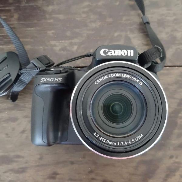 Câmera digital canon sx50 hs
