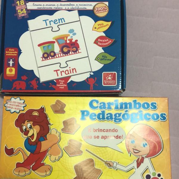 Duo brinquedos educativos