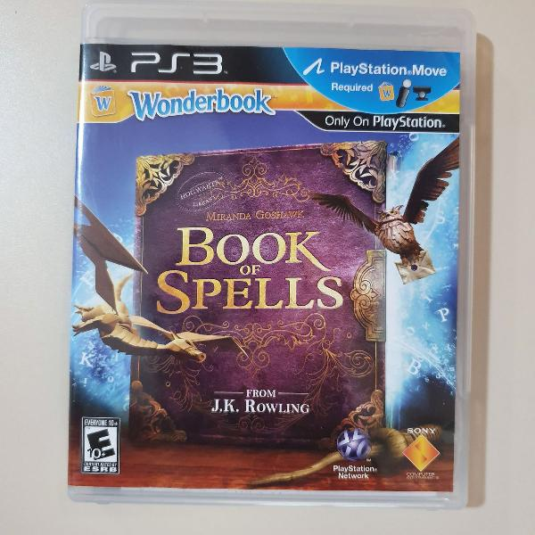 jogo book of spells ps3