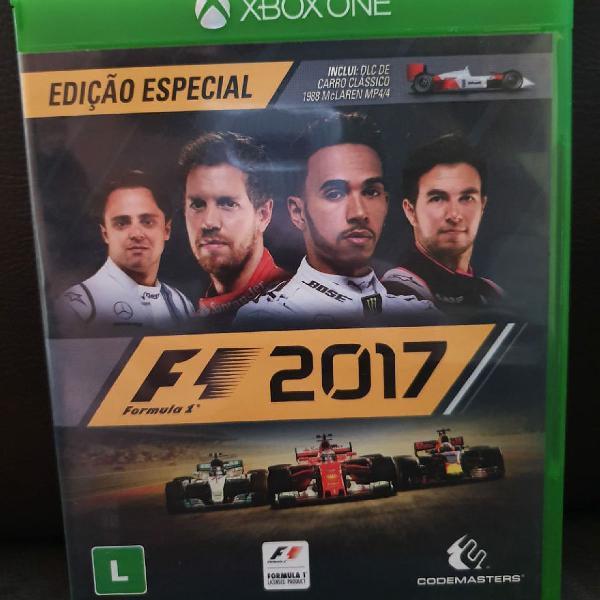 Jogo fórmula 1 2017 - para xbox one