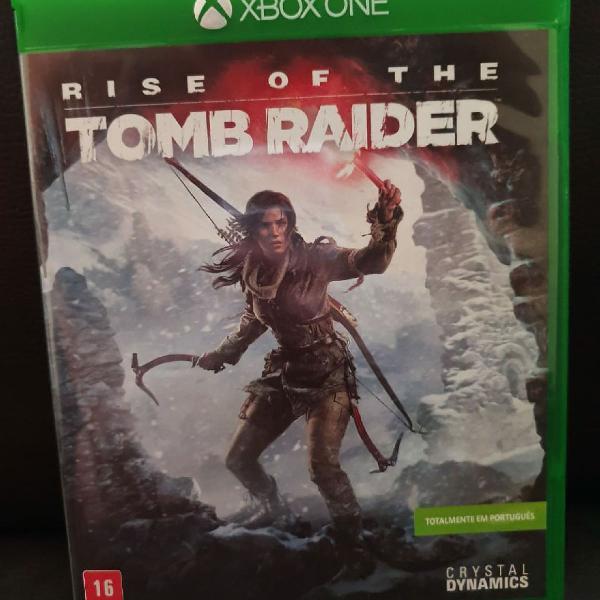 Jogo rise of the tomb raider - para xbox one