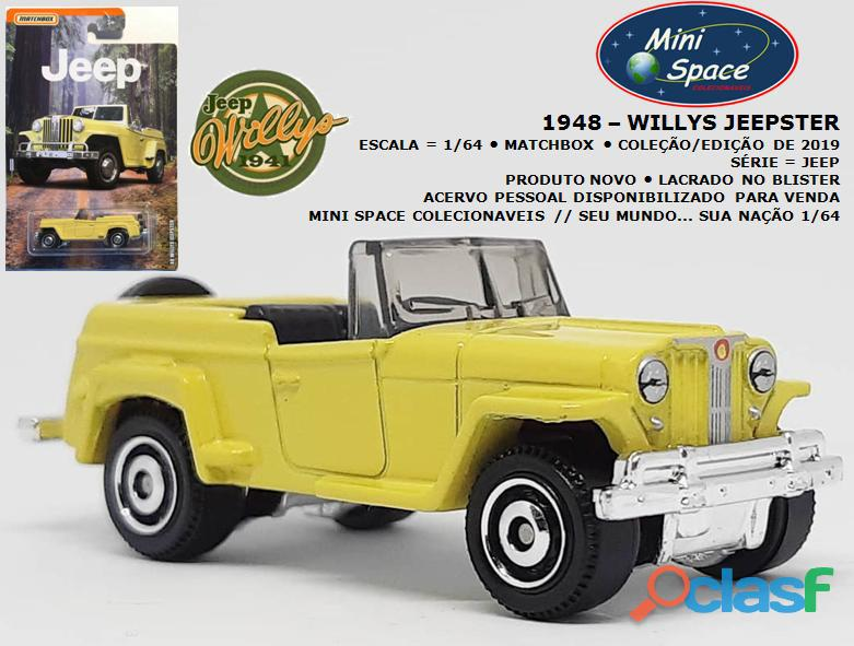 Matchbox 1948 Willys Jeepster 1/64
