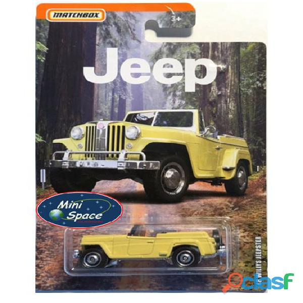 Matchbox 1948 Willys Jeepster 1/64 9
